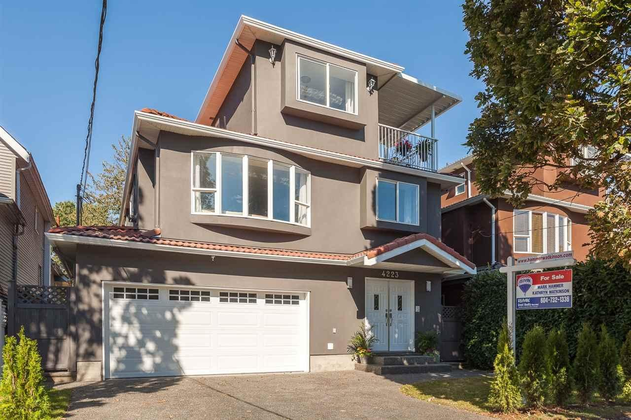 R2101926 - 4223 QUEBEC STREET, Main, Vancouver, BC - House/Single Family