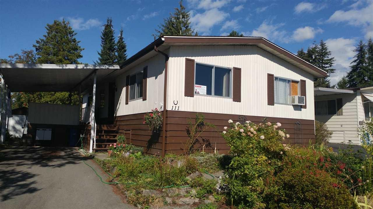 R2105828 - 111 3665 244TH STREET, Otter District, Langley, BC - Manufactured