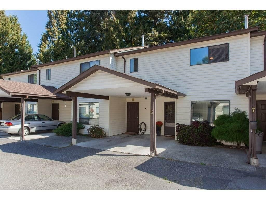 R2109612 - 6 4840 207 STREET, Langley City, Langley, BC - Townhouse