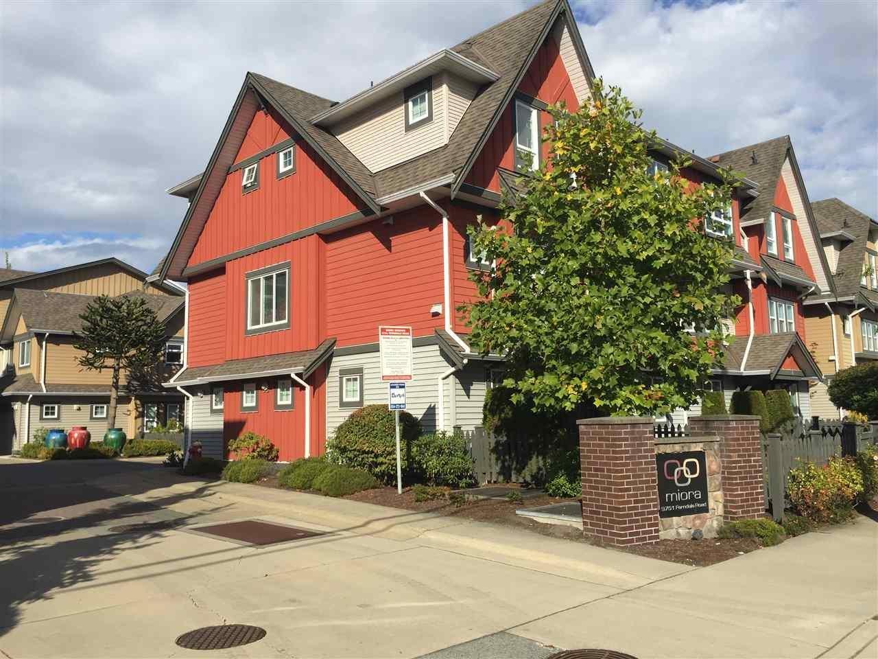 R2109730 - 7 9751 FERNDALE ROAD, McLennan North, Richmond, BC - Townhouse