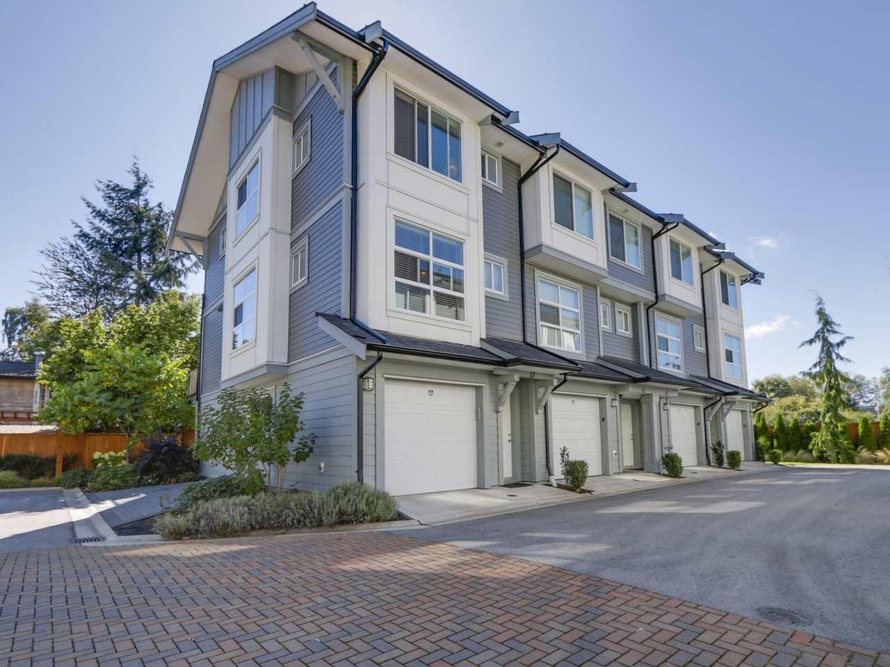 R2110707 - 13 4191 NO 4 ROAD, West Cambie, Richmond, BC - Townhouse