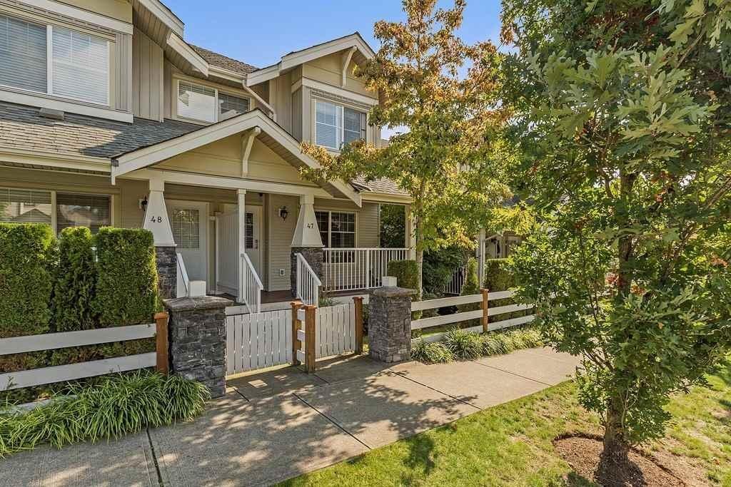R2112306 - 47 6568 193B STREET, Clayton, Surrey, BC - Townhouse