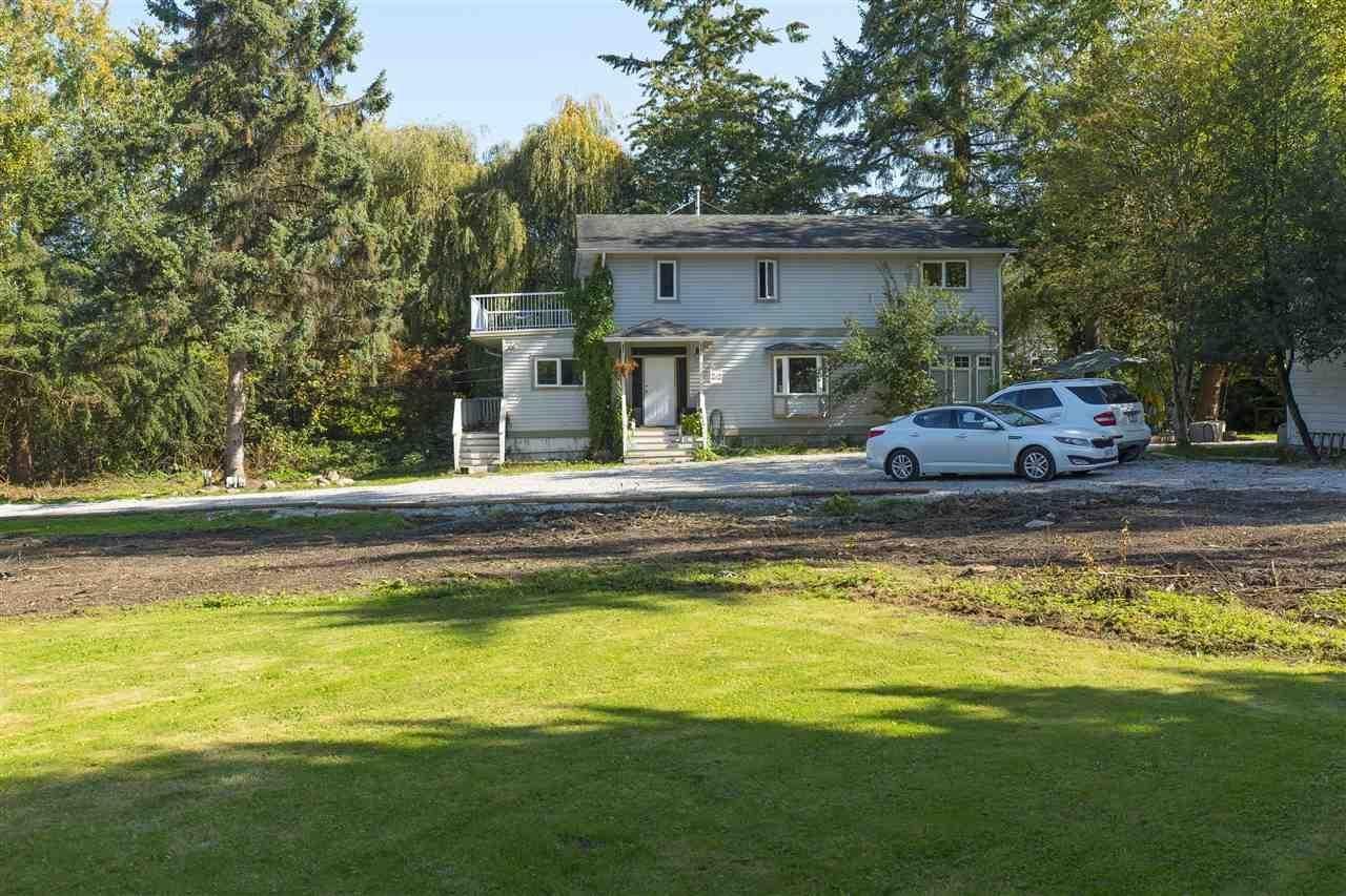 R2113449 - 19480 78TH AVENUE, Clayton, Surrey, BC - House with Acreage