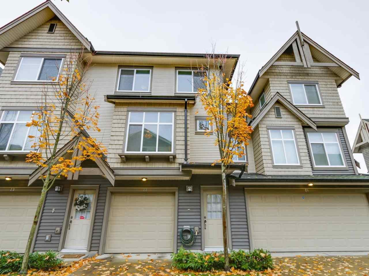 R2115027 - 22 9800 ODLIN ROAD, West Cambie, Richmond, BC - Townhouse