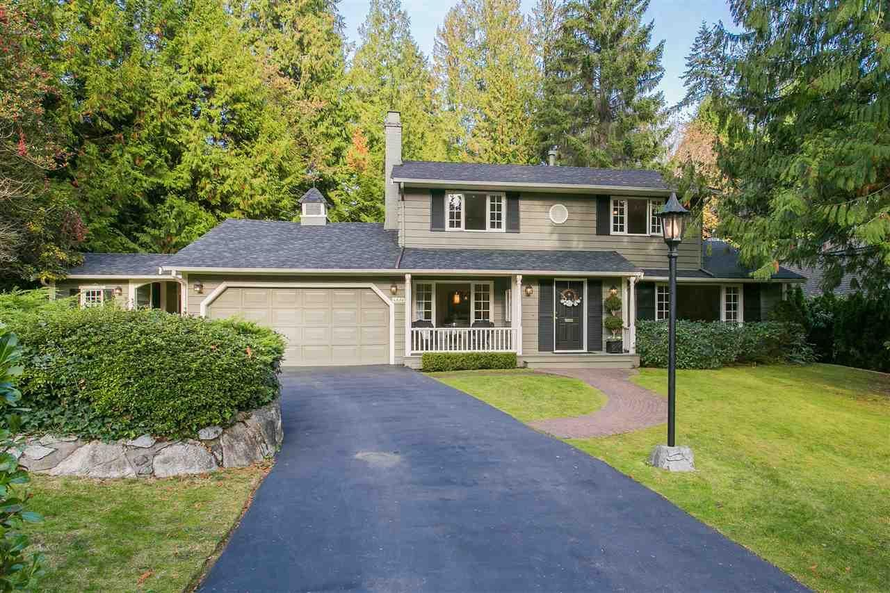 R2115447 - 4650 CHERBOURG DRIVE, Caulfeild, West Vancouver, BC - House/Single Family