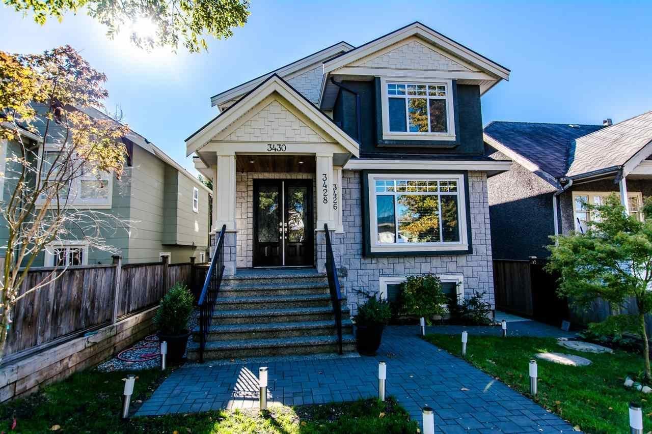 R2115914 - 3430 FRANKLIN STREET, Hastings East, Vancouver, BC - House/Single Family