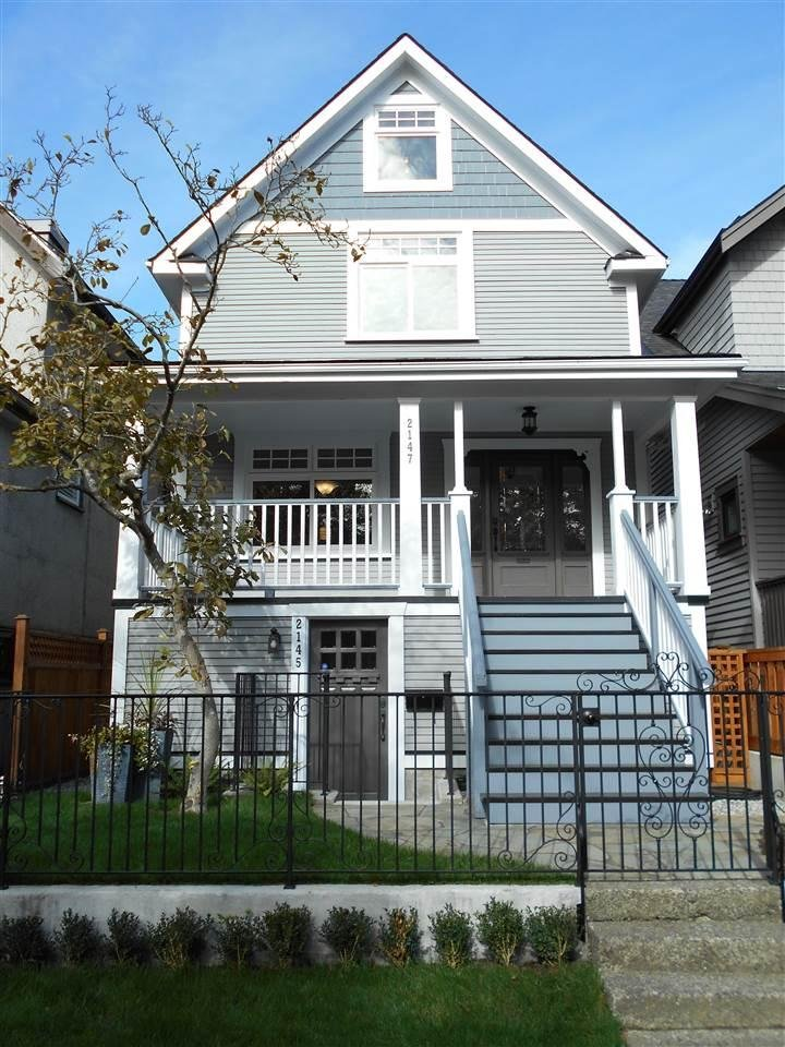 R2116977 - 2147 E PENDER STREET, Hastings, Vancouver, BC - House/Single Family