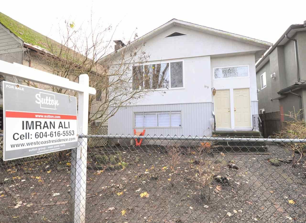 R2117612 - 878 E 38TH AVENUE, Fraser VE, Vancouver, BC - House/Single Family