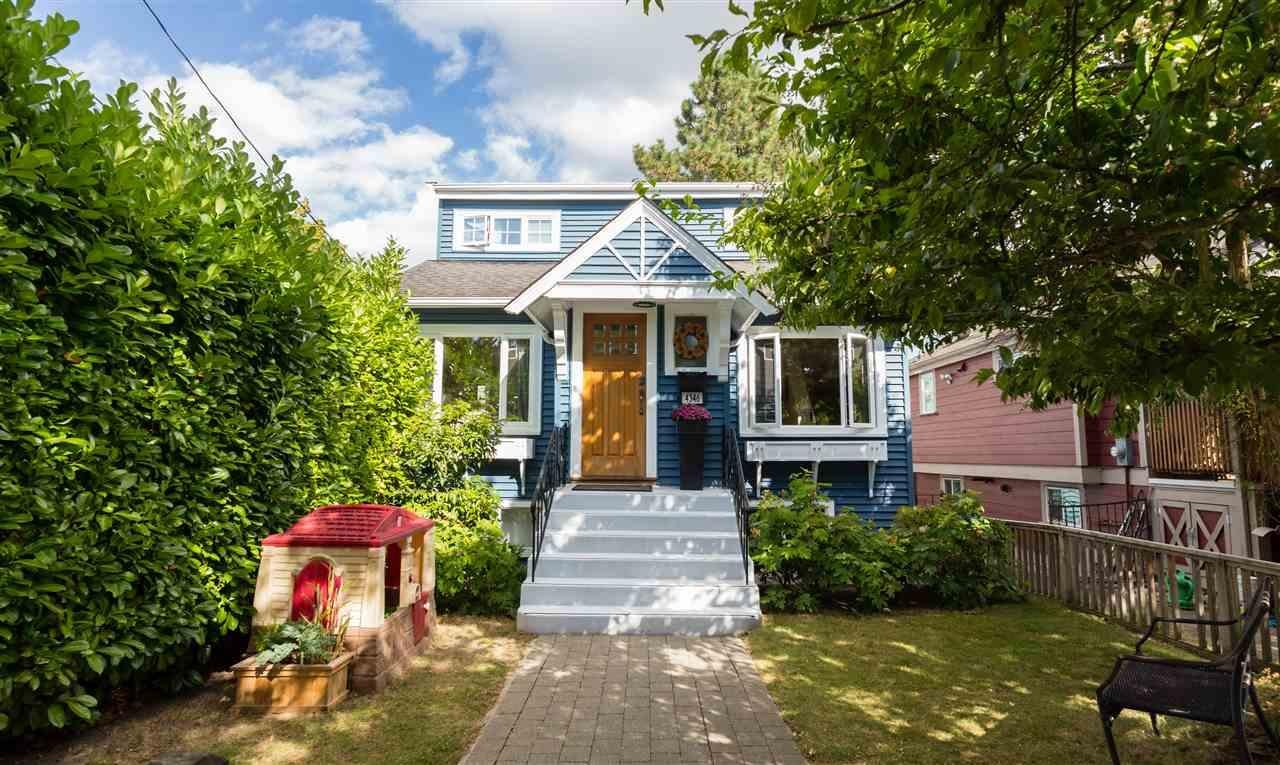 R2117770 - 4346 JAMES STREET, Main, Vancouver, BC - House/Single Family