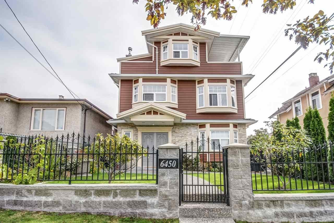R2122540 - 6450 ST. GEORGE STREET, Fraser VE, Vancouver, BC - House/Single Family