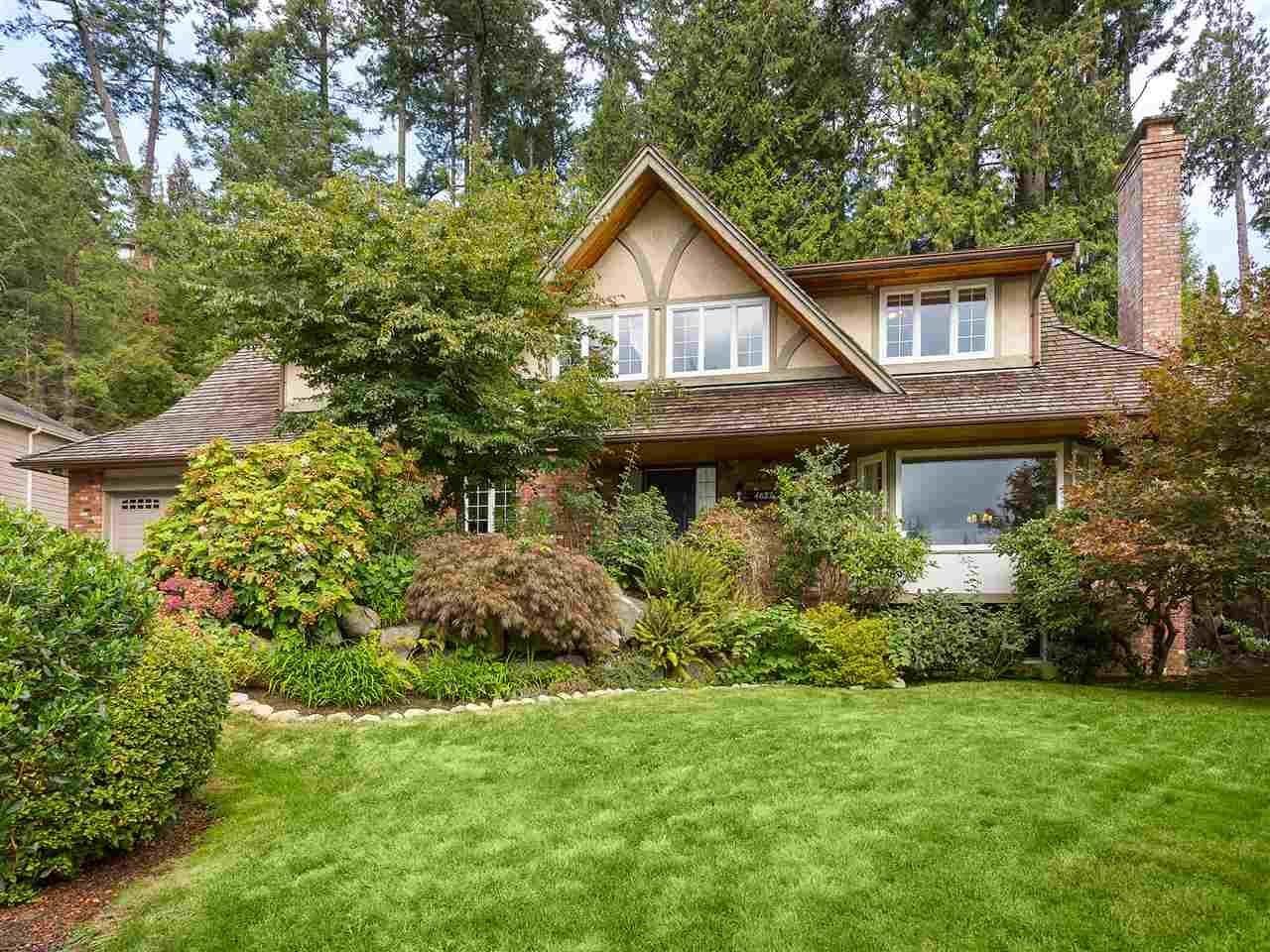 R2122862 - 4627 CAULFEILD DRIVE, Caulfeild, West Vancouver, BC - House/Single Family
