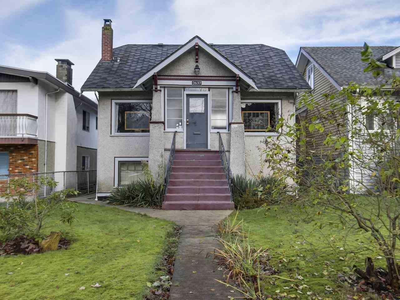 R2122919 - 2637 CAMBRIDGE STREET, Hastings East, Vancouver, BC - House/Single Family