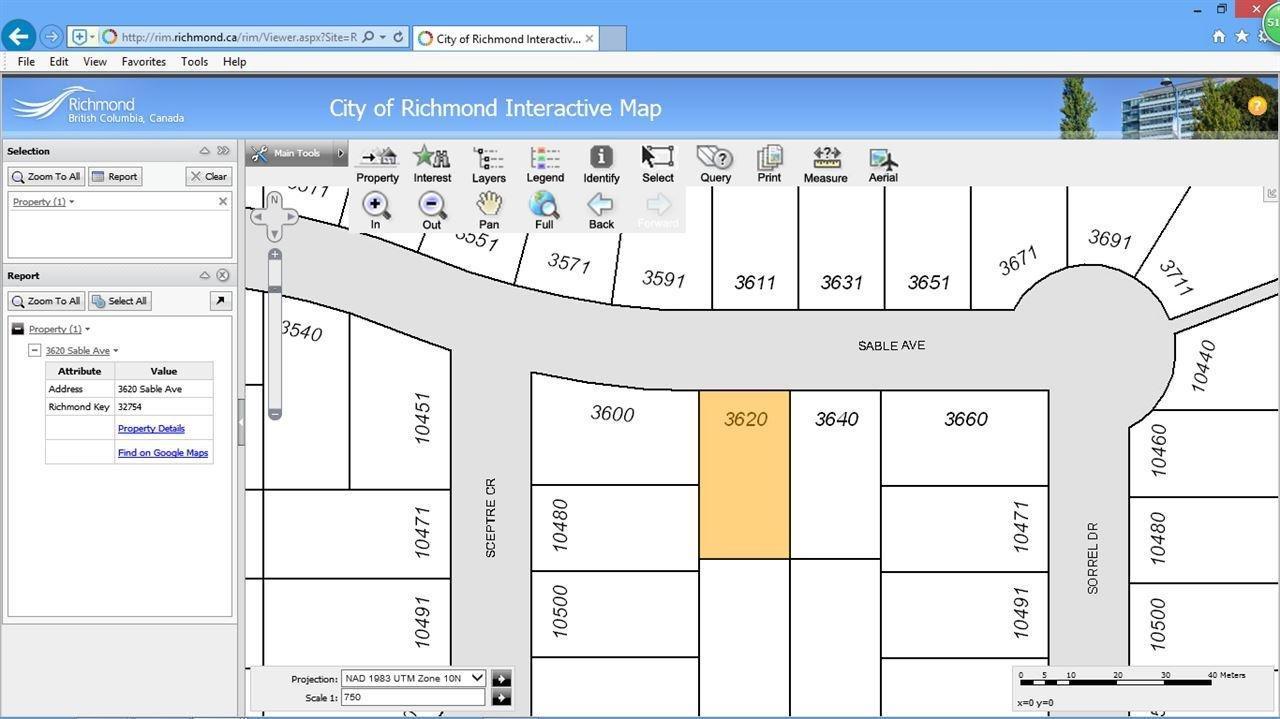 R2123302 - 3620 SABLE AVENUE, Steveston North, Richmond, BC - House/Single Family
