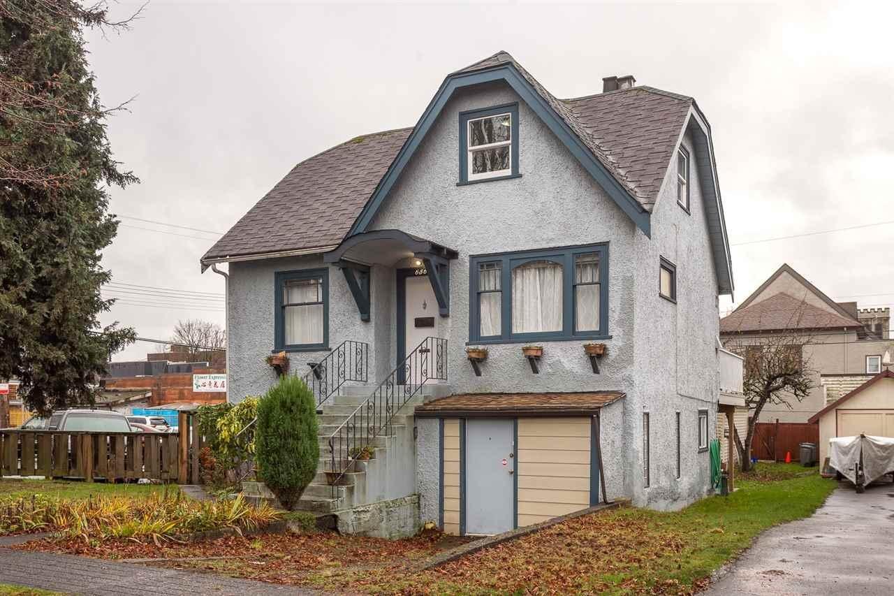 R2123641 - 656 E 46TH AVENUE, Fraser VE, Vancouver, BC - House/Single Family