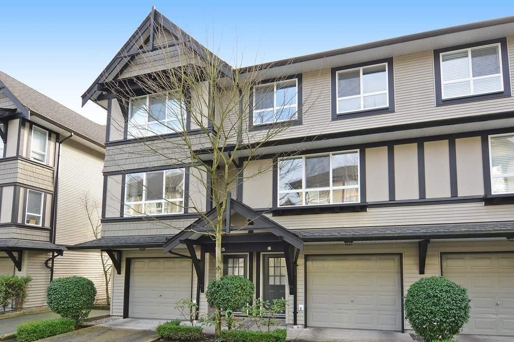 R2125819 - 16 6747 203 STREET, Willoughby Heights, Langley, BC - Townhouse