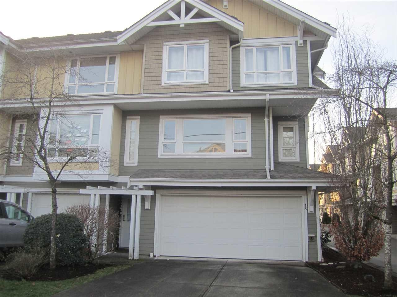 R2128350 - 18 5355 201A STREET, Langley City, Langley, BC - Townhouse