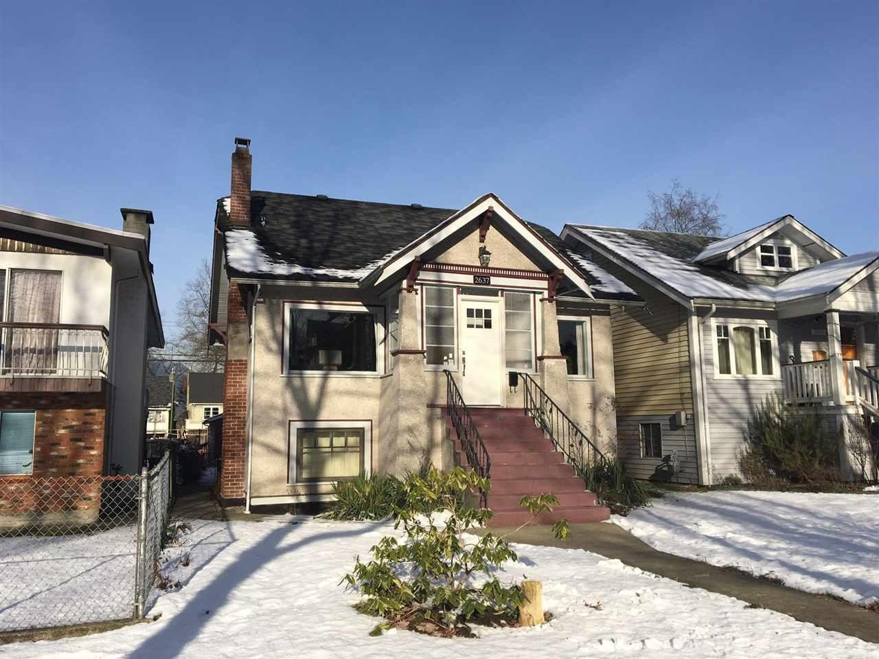 R2129476 - 2637 CAMBRIDGE STREET, Hastings East, Vancouver, BC - House/Single Family