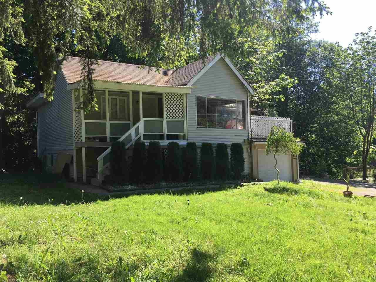 R2131349 - 24592 56 AVENUE, Salmon River, Langley, BC - House with Acreage
