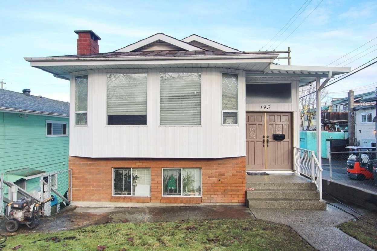 R2133088 - 195 E 20TH AVENUE, Main, Vancouver, BC - House/Single Family