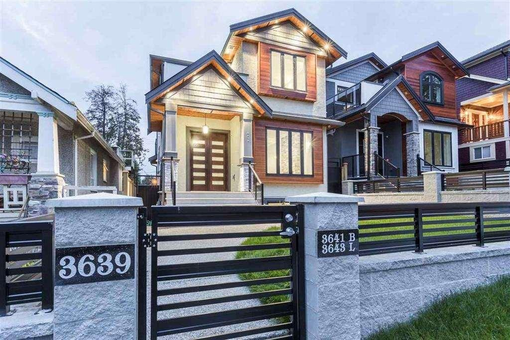 R2133306 - 3639 OXFORD STREET, Hastings East, Vancouver, BC - House/Single Family
