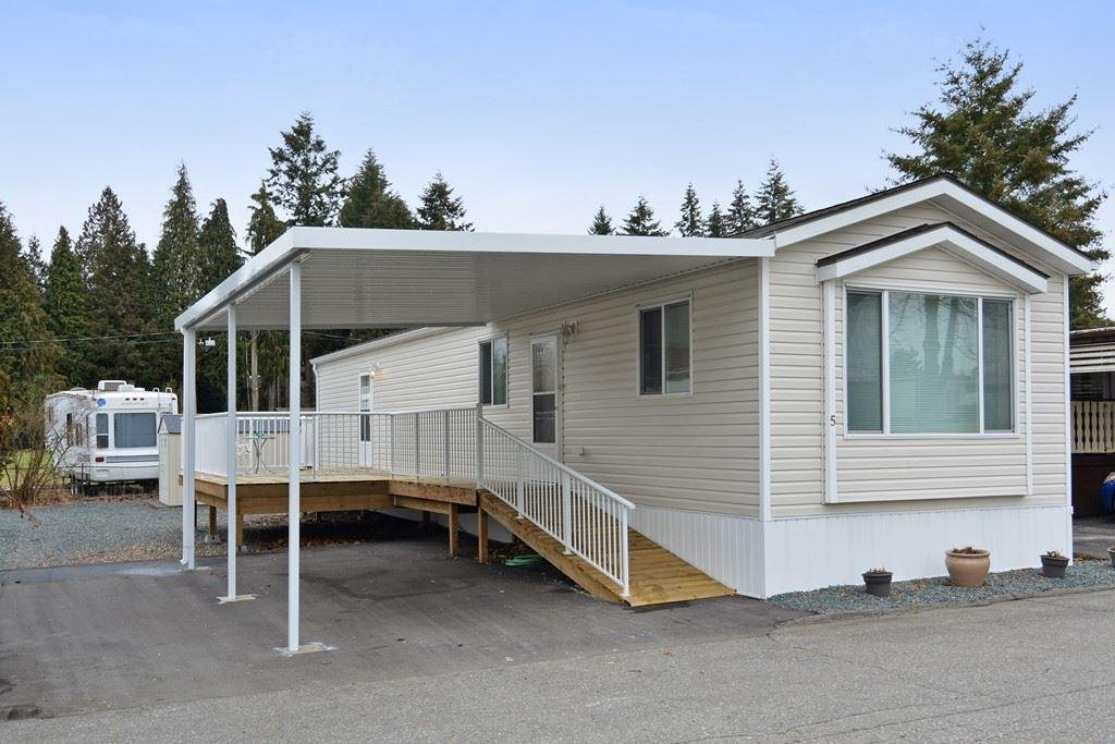 R2134078 - 5 4426 232ND STREET, Salmon River, Langley, BC - Manufactured