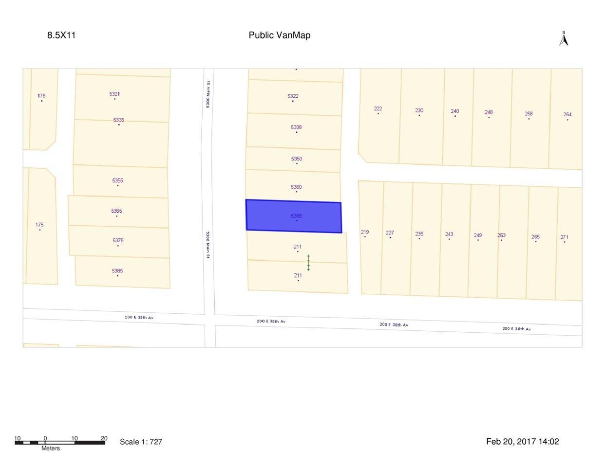 R2136745 - 5368 MAIN STREET, Main, Vancouver, BC - House/Single Family