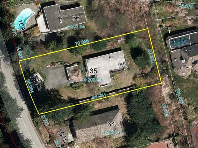 R2137379 - 1025 HIGHLAND DRIVE, British Properties, West Vancouver, BC - House/Single Family
