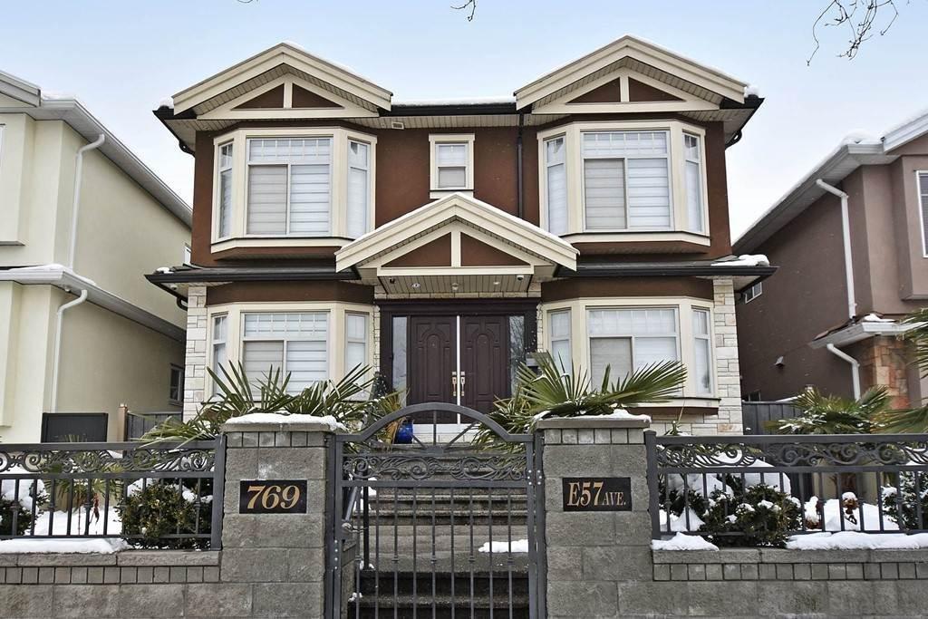 R2138693 - 769 E 57TH AVENUE, South Vancouver, Vancouver, BC - House/Single Family