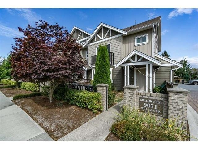 R2139043 - 9 9071 WILLIAMS ROAD, Saunders, Richmond, BC - Townhouse