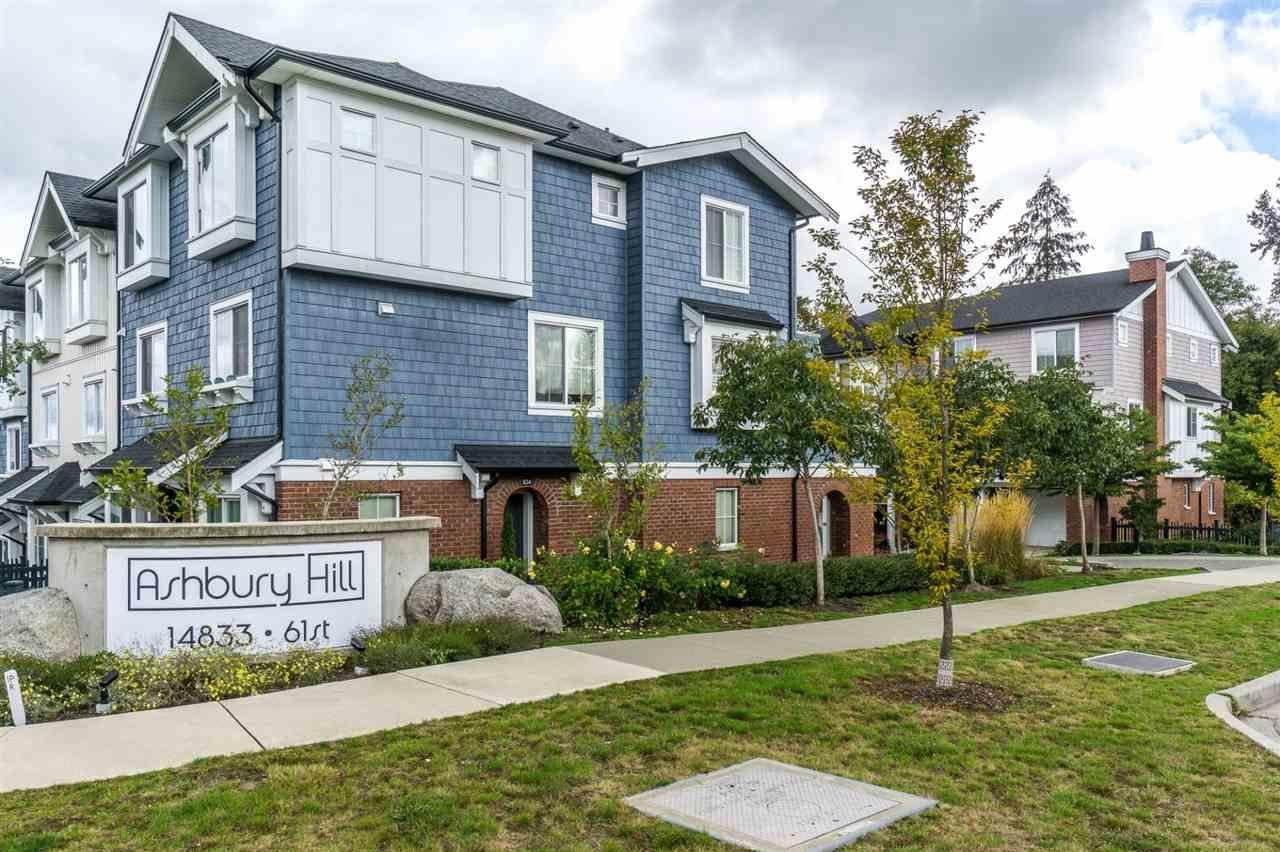 R2139157 - 151 14833 61 AVENUE, Sullivan Station, Surrey, BC - Townhouse