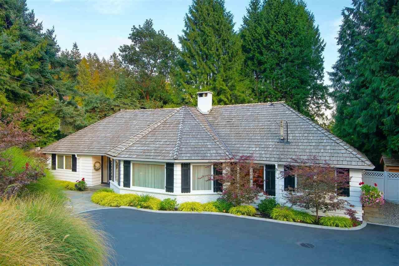 R2139635 - 4740 RUTLAND ROAD, Caulfeild, West Vancouver, BC - House/Single Family