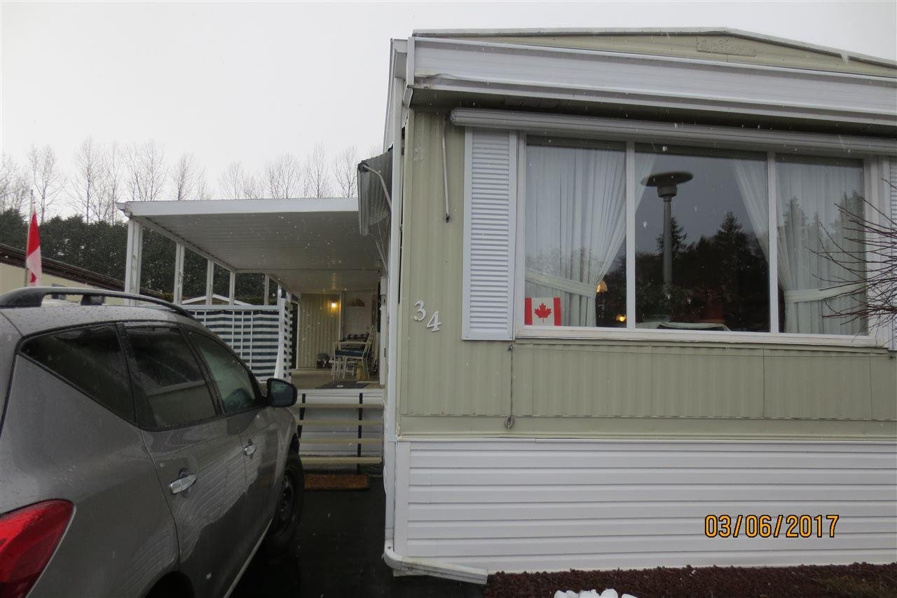 R2145837 - 34 2270 196 STREET, Brookswood Langley, Langley, BC - Manufactured