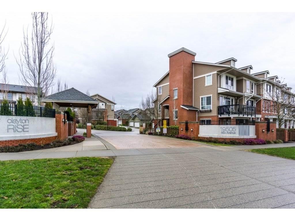 R2147610 - 105 19505 68A AVENUE, Clayton, Surrey, BC - Townhouse
