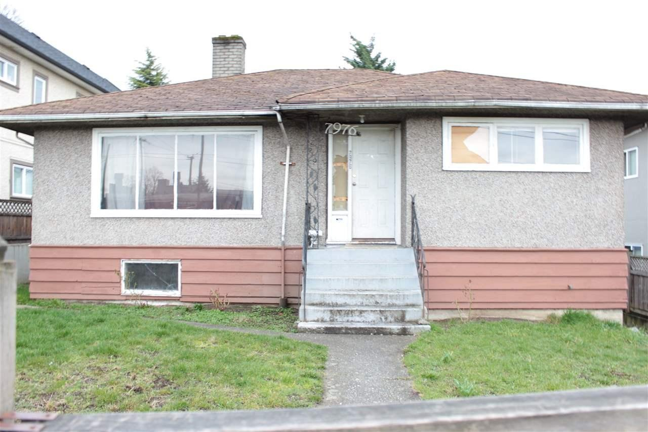 R2148603 - 7976 FRASER STREET, South Vancouver, Vancouver, BC - House/Single Family