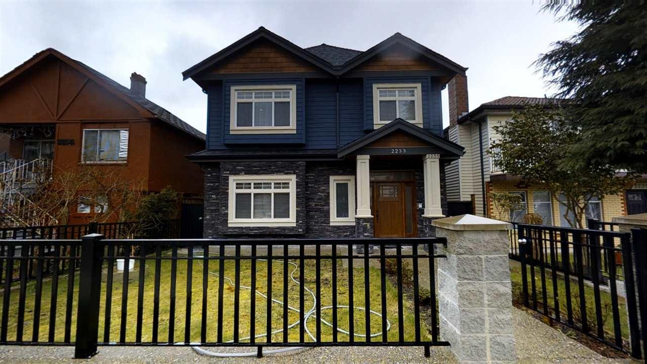 R2149422 - 2233 MANNERING AVENUE, Victoria VE, Vancouver, BC - House/Single Family