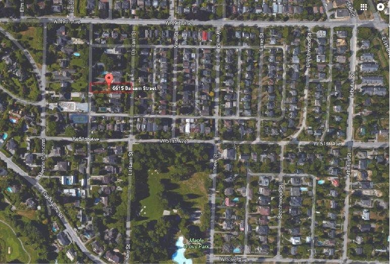 R2152768 - 6615 BALSAM STREET, S.W. Marine, Vancouver, BC - House/Single Family