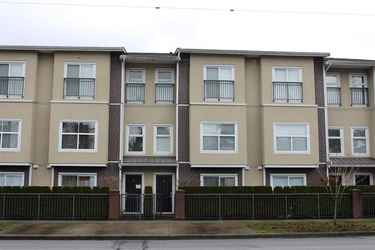 R2153020 - 6 6468 COONEY ROAD, Brighouse, Richmond, BC - Townhouse