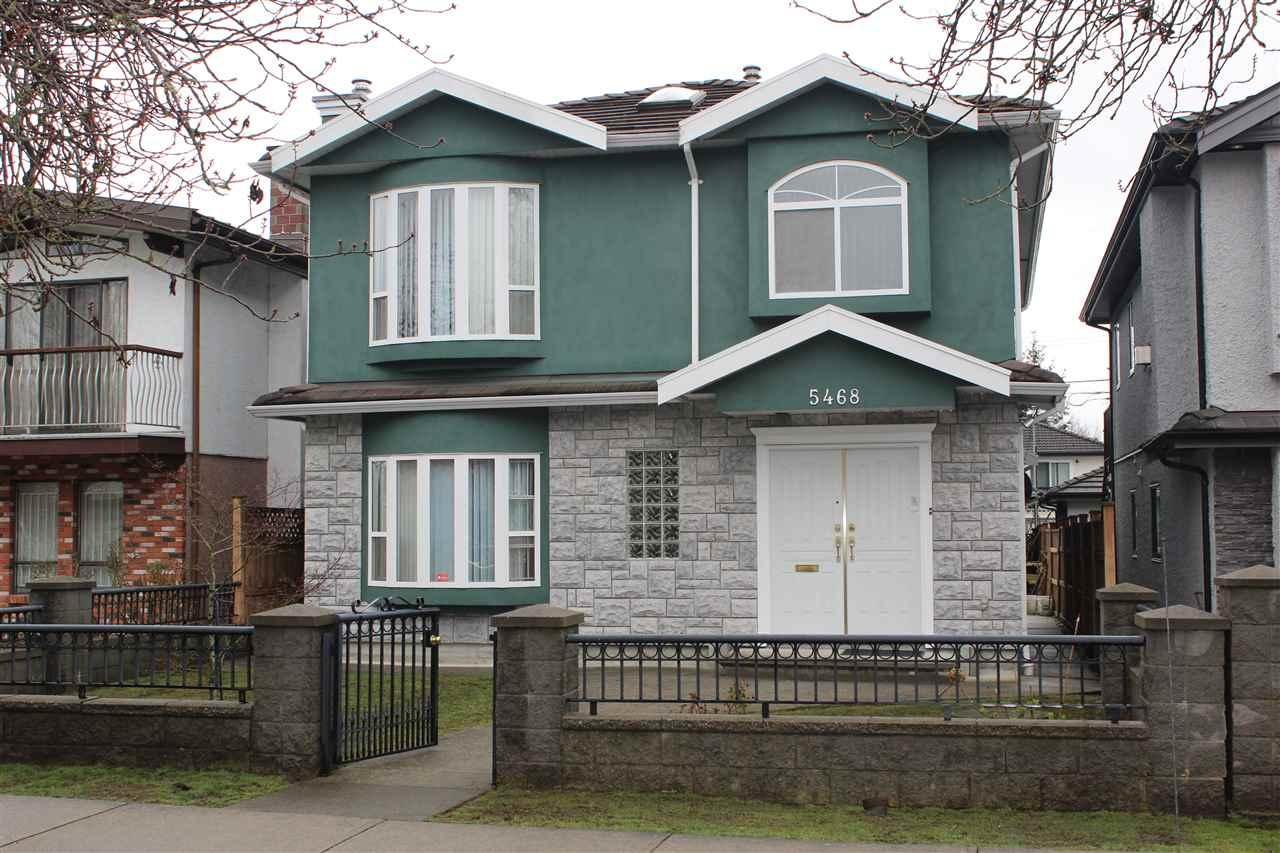 R2153517 - 5468 ARGYLE STREET, Victoria VE, Vancouver, BC - House/Single Family