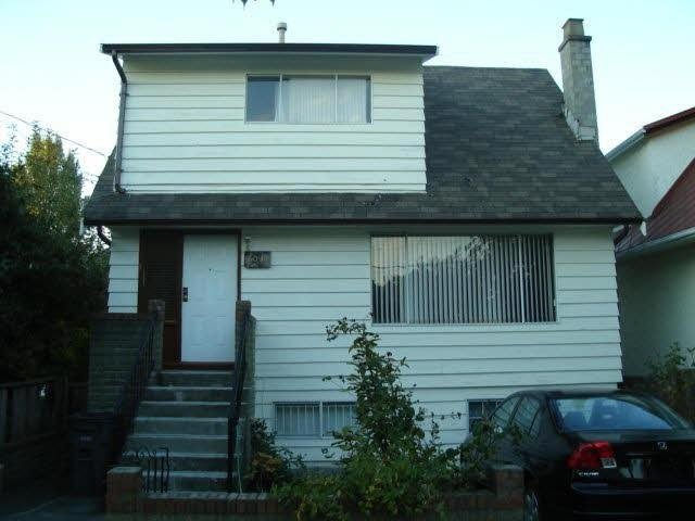 R2153527 - 2011 TURNER STREET, Hastings, Vancouver, BC - House/Single Family