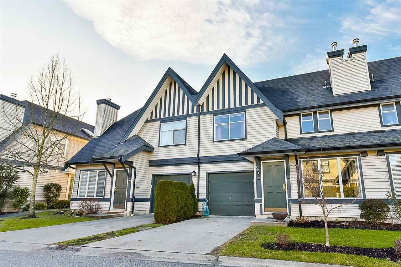 R2153564 - 23 18883 65 AVENUE, Cloverdale BC, Surrey, BC - Townhouse