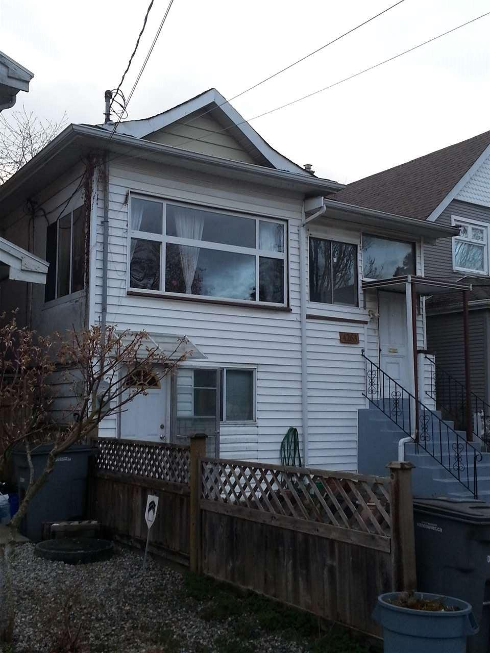R2155625 - 4263 QUEBEC STREET, Main, Vancouver, BC - House/Single Family