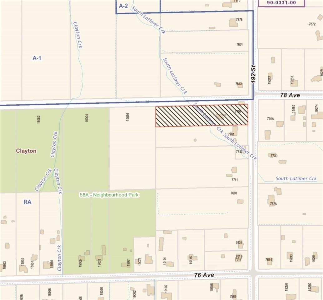 R2155843 - 7791 192 STREET, Clayton, Surrey, BC - House with Acreage