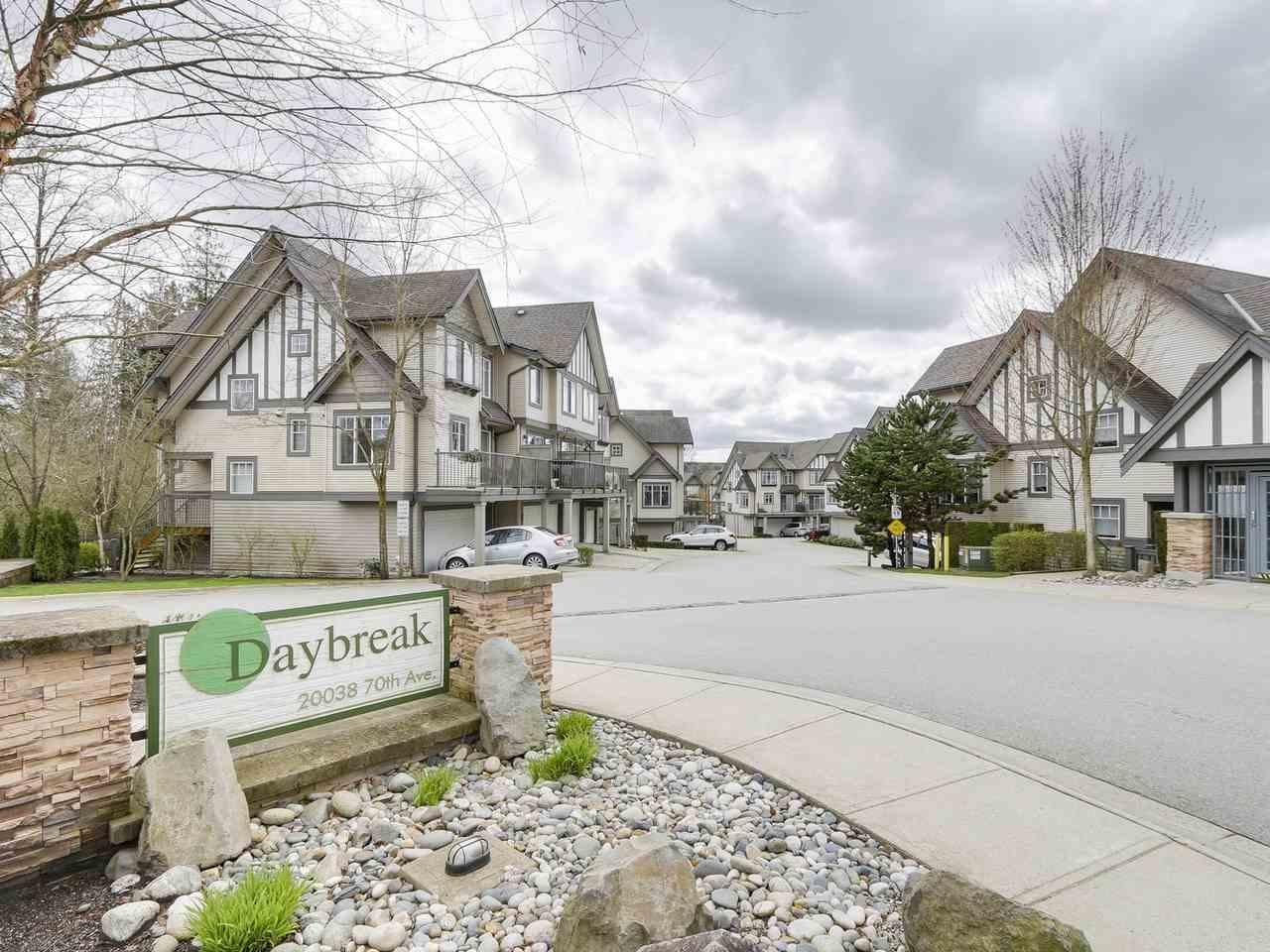 R2156455 - 14 20038 70 AVENUE, Willoughby Heights, Langley, BC - Townhouse
